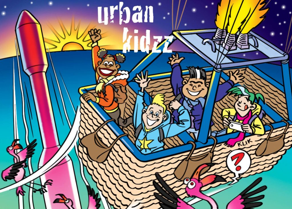 urban kidzz in de luchtballon